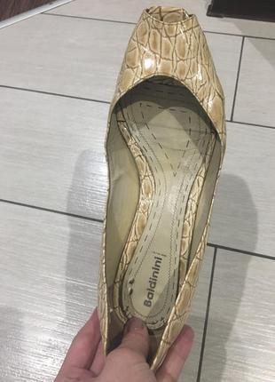 Туфлі балетки baldinini3 фото
