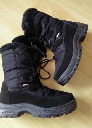Зимнии ботинки del-tex 38р