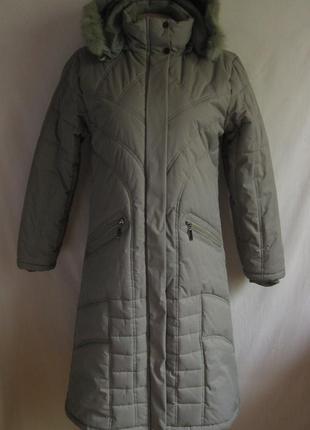 Зимнее пальто-пуховик на синтепоне fubu