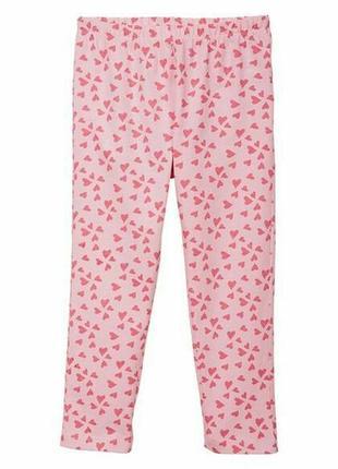 Хлопковые пижамные, домашние штаны lupilu р.110-116, 4-6 лет