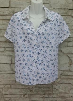 Распродажа!!! красивая блуза в мелкий принт