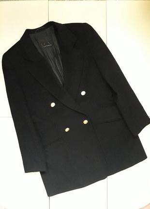 Удлиненный шерстяной пиджак жакет bogner