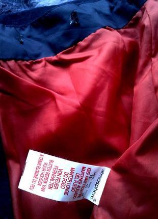 Яркая стильная рыжая  юбка мини шерсть,м- l.3