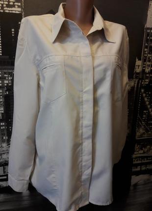 Большой выбор рубашек и блуз. рубашка цвета слоновой кости