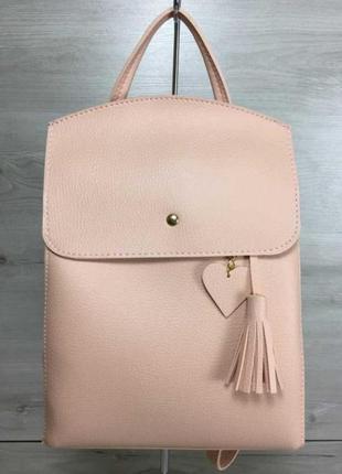 Рюкзак сумка из эко-кожи