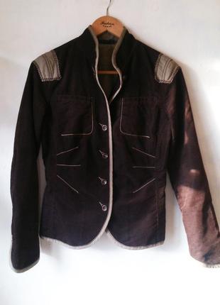 Стильный приталенный жакет пиджак в стиле paul smith