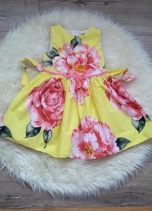 Платье с 3 д принтом