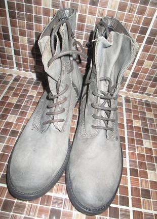 Ботинки tamaris р.40.натур.нубук.оригинал.сток.читаем...