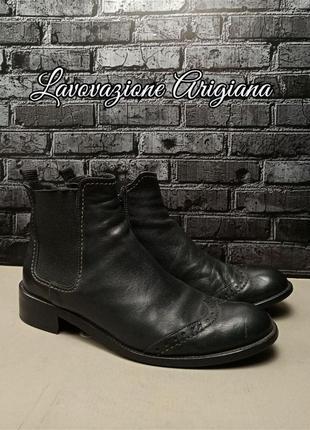 Кожаные туфли lavovazione artigiana