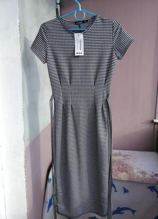 Новое платье миди от boohoo