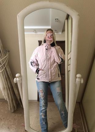 Куртка горнолыжная женская killtec level 3 розовая мембрана 3000
