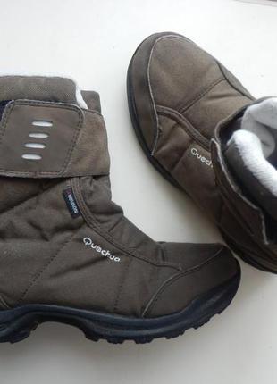 Термо ботинки quechua 38р 24,5см