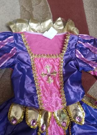 Новое платье принцессы на 5-6 лет