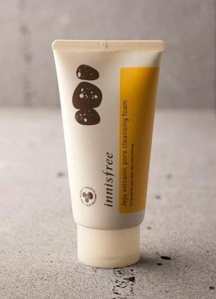 Пенка для умывания innisfree jeju volcanic pore cleansing foam 150ml
