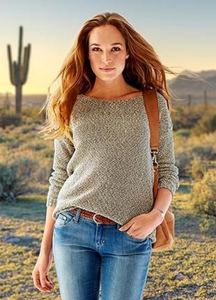 Модный свитерок трехнитка 48-50евро 54-56наш tcm tchibo