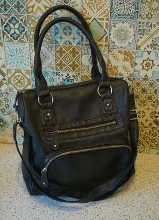 Сумка через плечо, сумка кожзам, сумочка