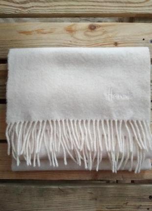 Королевский шерстяной шарф 100% шерсть