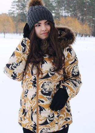 Эксклюзивный куртка-пуховик s, м