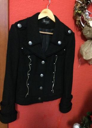 Шерстяной пиджак s