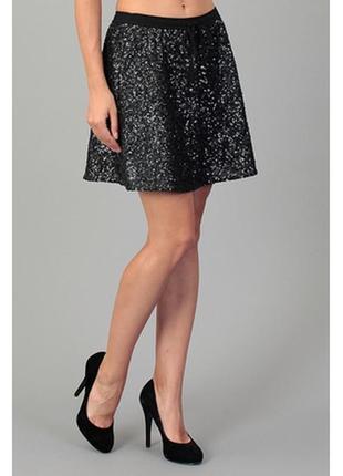 Женская  юбка в пайетках немецкого бренда  tom tailor
