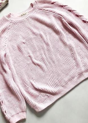 Вязаный свитер f&f
