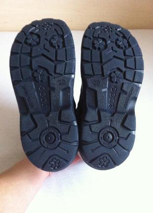Зимние сапоги ,ботинки ecco snowride с мембраной gore-tex р. 29 ст. 18,5 см оригинал !!!5