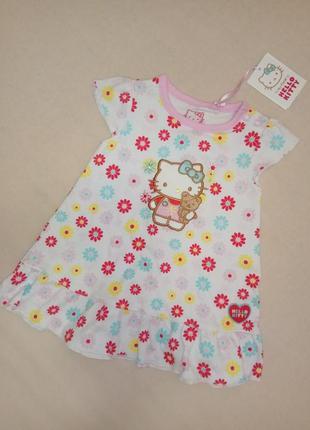 Платье бренда tu, англия 56/62 см