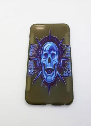 Чехол телефона apple iphone 6 plus. силикон.