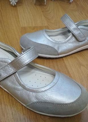 Мега удобние кожание туфли мокасины geox 41р
