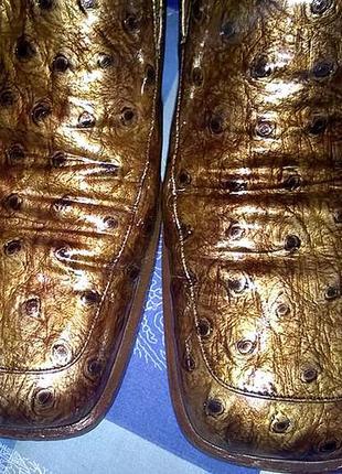 Туфли. натуральная лакированная кожа. размер 38 ( 24,5 см). brunella, италия.
