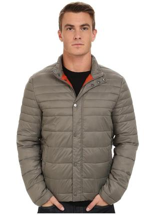 Куртка kenneth cole new york quilted poly jacket