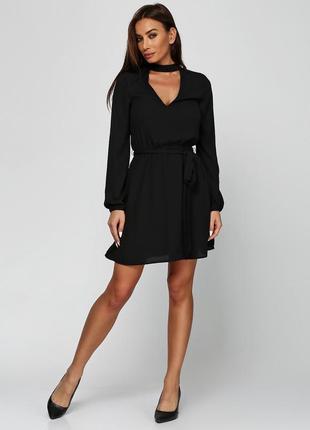 Платье с чокером н&м