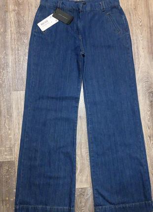 Расклешенные джинсы палаццо