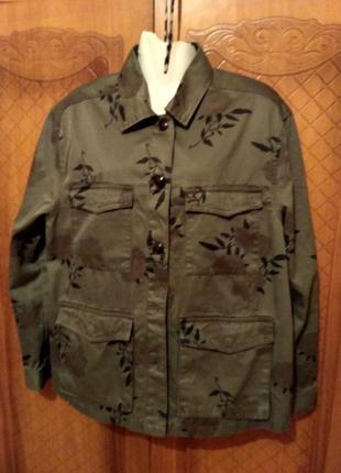 Стильная куртка-піджак.