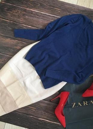 Синий свитер tu базовый