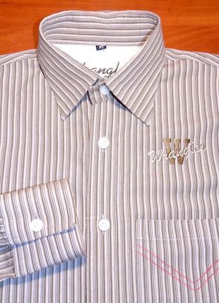 Wrangler шикарная брендовая рубашка - s - m