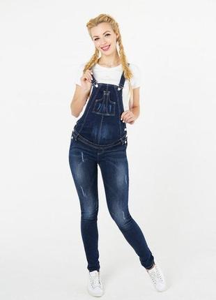 Продам джинсовый комбинезон для беременных фирмы to be