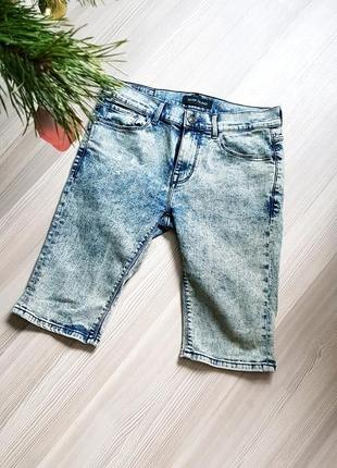 Бриджи варенки river island джинсовые шорты фирменные