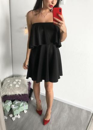 Неопреновое платье boohoo