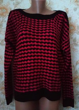 Хорошенький,теплый свитерок. на бирке-xl р-р 48-50