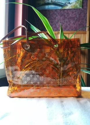 Прозрачная силиконовая сумка