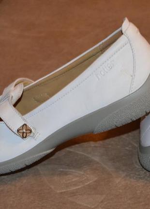 Туфли, балетки, мокасины hotter comfort concept, кожа, 41-42 размер4