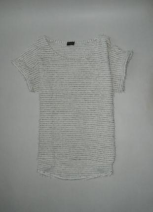 Стильная брендовая футболка\кофточка свободного покроя