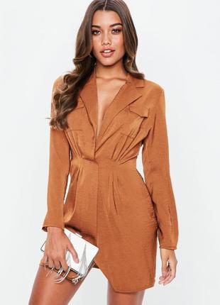 Missguided платье рубашка