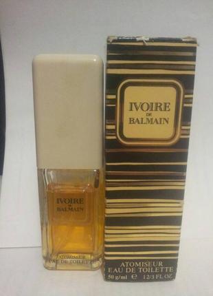 Духи balmain ivoire for women edt оригинал винтаж