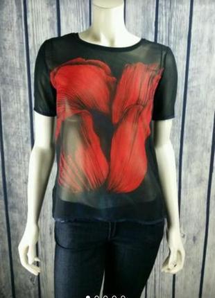Крутейшая блуза zara w&b collection размер л