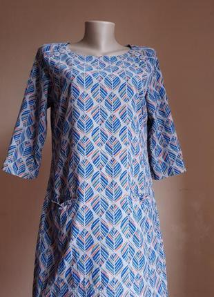 Потрясающее платье хлопок карманы seasalt cornwall англия