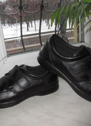 Кожаные туфли hush puppies 44 р