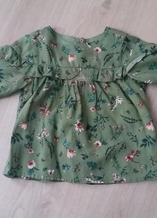 Блуза next на 2 года