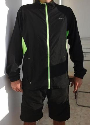 Спортивная куртка frank shorter dry plus, бег, вело, фитнес